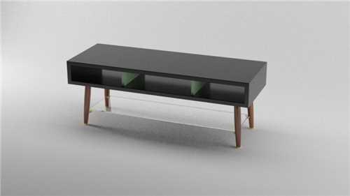 Klubska mizica / polnilec v stilu 50 let K07-0015