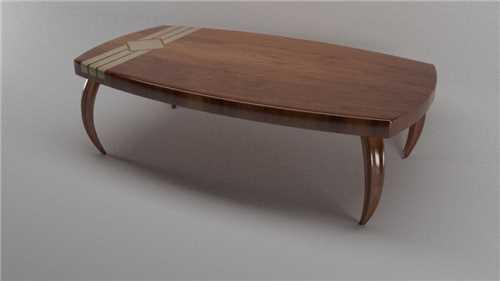 Secesijska klubska mizica / polnilec K07-0019